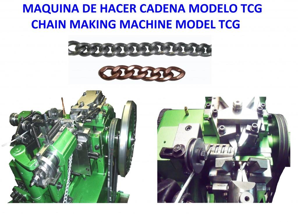 MAQUINA DE HACER CADENA TCG